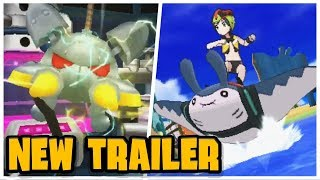 NEW SURF FEATURE and TRIALS REVEALED!! - Brand New Trailer! (Pokemon Ultra Sun and Moon) by Tyranitar Tube