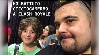 HO BATTUTO CICCIOGAMER89 A CLASH ROYALE!! || NICOLE SPACE
