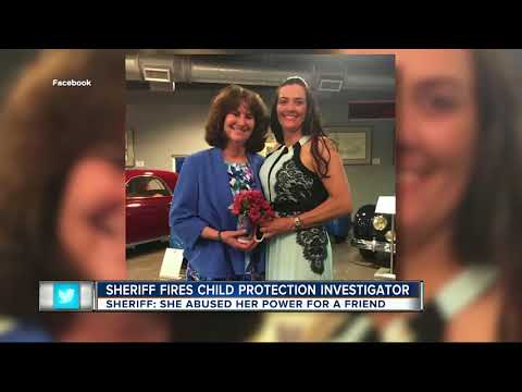 Sheriff: Child protection investigator fired for helping a friend try to win bitter custody battle