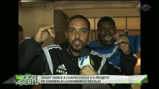 O leão da ilha do retiro vence a Chape por 3 a 0 na Arena Pernambuco com gols de André e Diego Souza e fica a quatro pontos do vice-líder Grêmio.