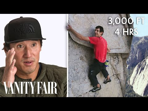 """How """"Free Solo"""" Filmed The First El Capitan Climb With No Ropes   Vanity Fair"""