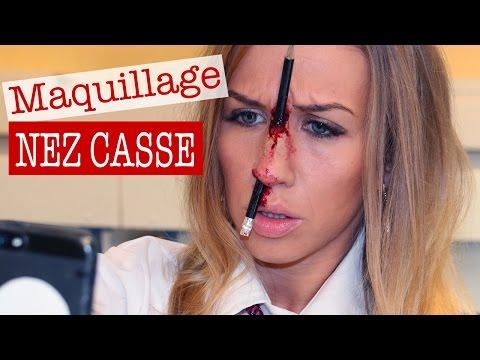 Maquillage Effets Spéciaux : Nez Cassé