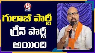 BJP MP Dharmapuri Arvind Comments On TRS Leaders