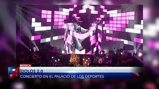 Idolos 2.0 con Belinda, Marta Sánchez y Paulina Rubio