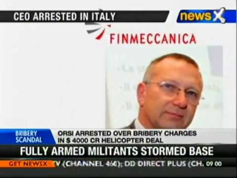 Agusta helicopter deal: CEO of Finmeccanica arrested in Italy