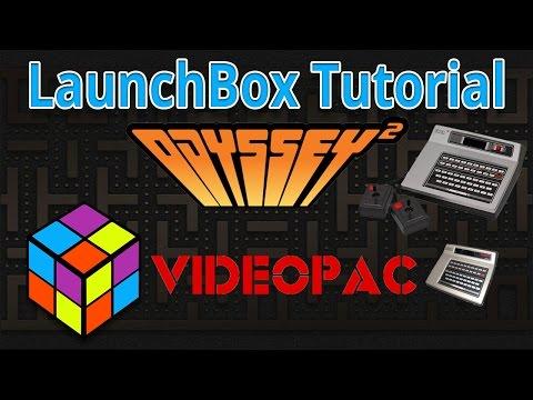 Magnavox Odyssey 2 / Philips Videopac - LaunchBox Tutorials