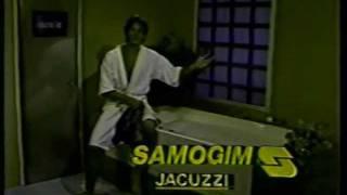 Comercial Samogim 1987 - com Edson Celulari.