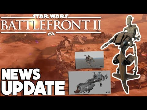 Star Wars Battlefront 2 - FULL Geonosis Details and New Images! AT-TE, STAP, BARC Speeder
