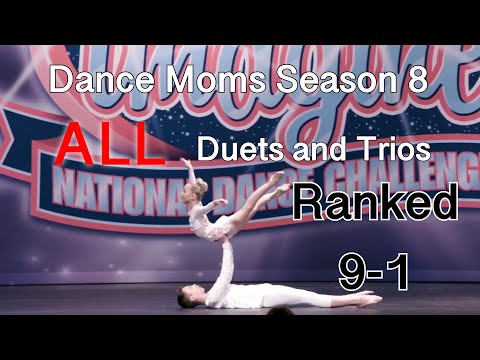 Dance Moms Season 8 All Duets and Trios Ranked!