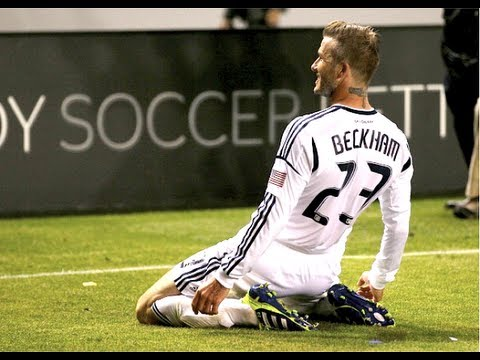 david beckham - What was David Beckham's best MLS Goal Ever? Cast your vote in the comments and at http://www.mlssoccer.com/blog/post/2012/07/19/will-beckham-break-his-perso...