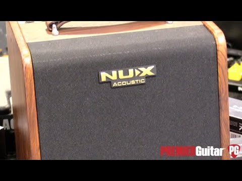 SNAMM '18 – Nu-X Stageman Acoustic Amplifier Demo