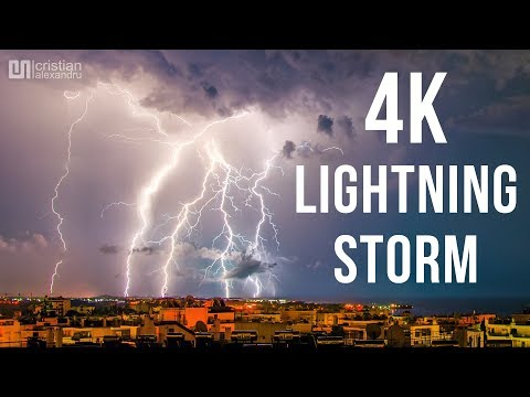 Video Small Lightning Storm in Bucharest in 4K download in MP3, 3GP, MP4, WEBM, AVI, FLV January 2017