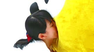 吉岡里帆出演・ポンタの巨体に向う!/UR×Ponta「すもう!UR第一番」CM