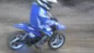 8. Kevin Kristiansen First motocross race on Yamaha PW-50