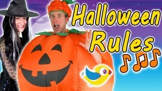 Halloween Rules - Kids Halloween Song
