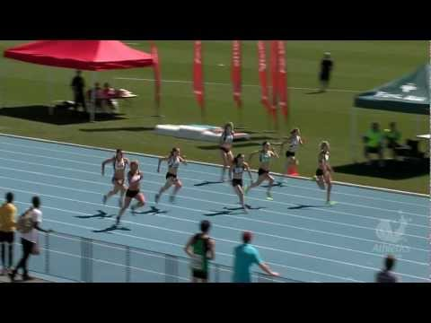 2013 Vic Champs. Women 100m Final