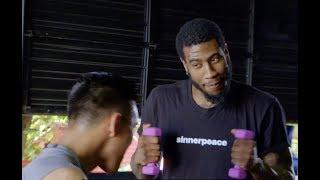 Iman Shumpert Training Like A Boxing Champion |  DAZN Challenges Him To Canelo Alvarez' Routine by Bleacher Report