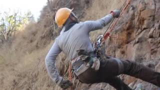 Rappelling while Camping near Pune