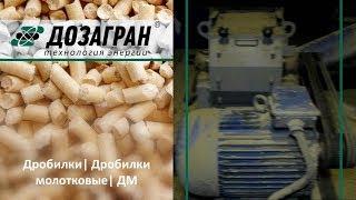Видео Дробилки молотковые, ДМ
