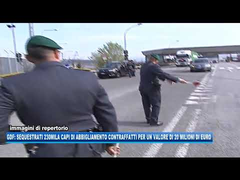 14/09/2020 - GDF: SEQUESTRATI 230MILA CAPI CONTRAFFATTI NEL PORTO DI TRIESTE
