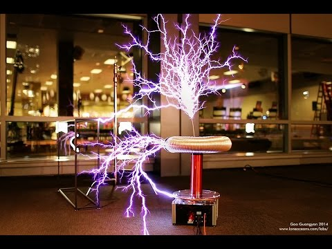 Musical Lightning - Dance of the Sugar Plum Fairy - Tesla Coil (видео)