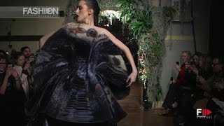 GILES Full Show London Fashion Week Autumn Winter 2015 2016 By Fashion Channel