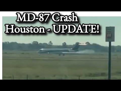 MD-87 Crash Houston UPDATE 21 Oct