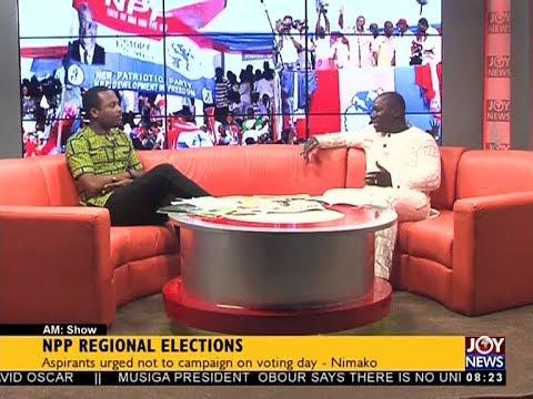NPP Regional Elections - AM Talk on JoyNews (20-4-18)