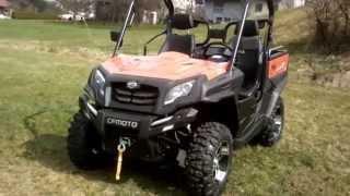 9. CFMoto UForce 800 EX EFI EPS ATV Quad UTV SSV