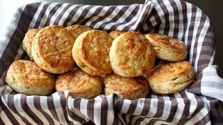 Irish Cheddar Spring Onion Biscuits - Savory Cheddar Green Onion Biscuit Recipe by Food Wishes
