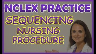 NCLEX drag and drop practice question on the steps for mixing insulin (clear to cloudy). This NCLEX-style question requires you to correctly put in order the steps on how to correctly mix a short-acting and intermediate insulin in one syringe for administration. On the NCLEX exam, you may receive drag and drop type questions where you will be required to put the options in the correct order. These questions can be about nursing procedures or nursing priorities. This particular NCLEX practice question will require you to determine which insulin in drawn up in the syringe first and how you would perform these steps correctly. This video is part of a weekly NCLEX review series where I will be going over NCLEX-style questions with you. I will be helping you analyze and breakdown each question, and walk you through how to select the correct option. NCLEX questions require critical thinking and you must know how to use your nursing knowledge to gather the facts and analyze what the question is asking. NCLEX Drag and Drop Practice Question on Nursing Procedure:The physician orders 10 units of Humulin-R and 12 units of Humulin-N subcutaneously before breakfast daily. You are required to mix these two medications in one syringe for administration. Correctly put in order the steps for how you will perform this procedure:Withdraw 10 units of Humulin-RClean off each vial top with alcohol prepDon glovesInject 10 units of air into the vial of Humulin-RWithdraw 12 units of Humulin-N to equal a total of 22 units in the syringeRoll the vial of Humulin-N in between the palms of the handsInject 12 units of air into the vial of Humulin-NWash handsWatch the video for the correct answer and rationale. Free NCLEX practice quizzes: http://www.registerednursern.com/nursing-student-quizzes-tests/Notes: http://www.registerednursern.com/nclex-practice-question-sequencing-nursing-procedure/More NCLEX Weekly Questions: https://www.youtube.com/playlist?list=PLQrdx7rRsKfW4sKVpfklFFvhvBNjQazHbSubsc