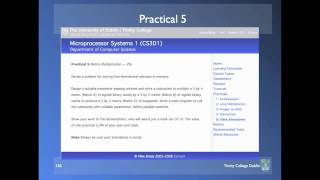 Microprocessor Systems - Lecture 18