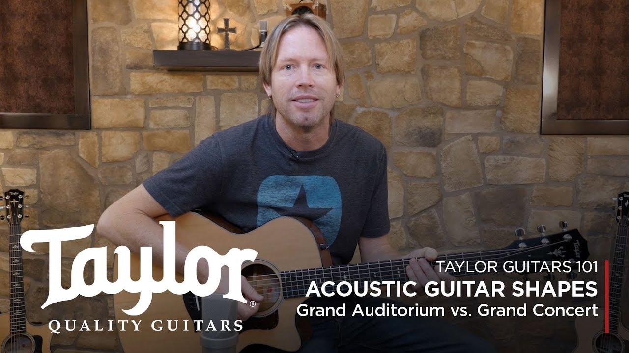Acoustic Guitar Body Shapes | Grand Auditorium vs. Grand Concert