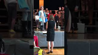 Asher as Stuart in Stuart Little - 3rd Grade Lyric Opera Performance (2018)