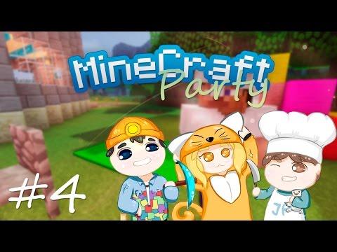 MineCraft Party | Строю теплицу #4 (5)