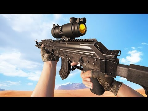 PlayerUnknown's Battlegrounds ALL Weapons Showcase