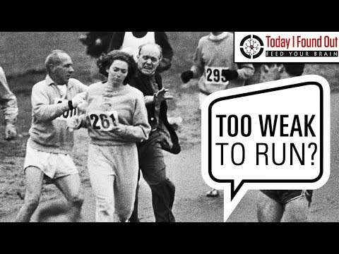 The First Woman to Officially Run the Boston Marathon