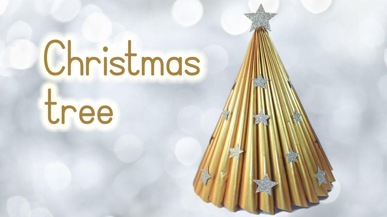 ALBERELLO DI NATALE ♥ Elegantissimo Albero di Natale con riviste ♥ Riciclo Creativo