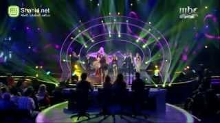 Arab Idol -ديانا حداد والمشتركين - ميدلي سميرة توفيق
