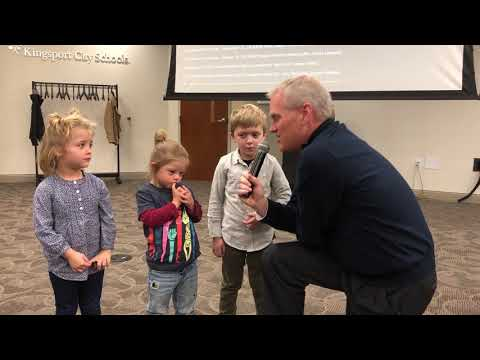 Video: Pledge of Allegiance, Palmer Center style