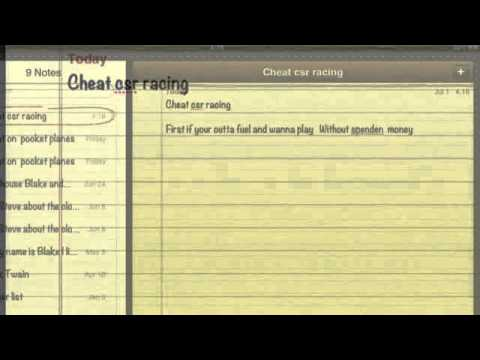 Crs IPad Racing Game Cheats