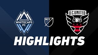Vancouver Whitecaps FC vs. D.C. United   HIGHLIGHTS - August 17, 2019 by Major League Soccer
