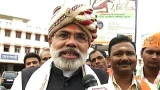 One lakh to witness Modi's nomination filing in Varanasi