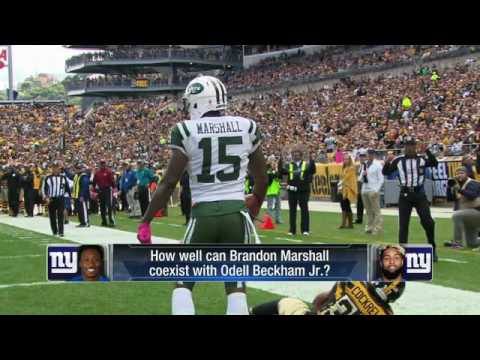 Video: How does Brandon Marshall fit in with the New York Giants?