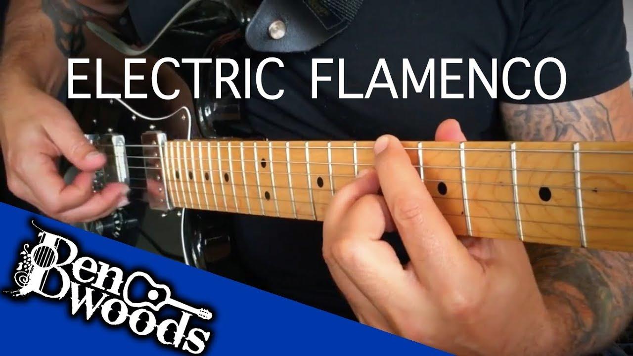 The Red Salmon (bulerias) – Electric Flamenco Guitar – Ben Woods