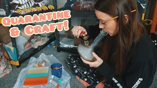 Painting Adventure! (lol i promise this is my last quarantine video) by Silenced Hippie
