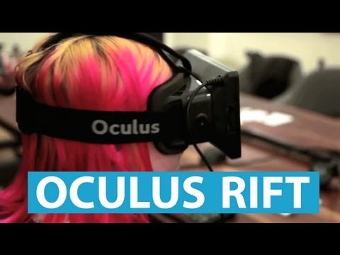 Oculus Rift: Hands on With the Future of Gaming