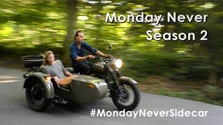 "Here it is, the BIG UNVEIL for Monday Never season 2. Last season, we bought a sailboat sight unseen and traveled the Caribbean for 10 months. Now, we are about to start our second season - and we are going to go traveling in a sidecar motorcycle. Where are we going, and what are we doing? We're not sure. But we are going to start in England in September 2016 and make our way around Europe until we are too cold to continue.Our plan - weekly youtube videos and daily Facebook / Instagram updates on our progress. Thank you to all of our Patrons who made season 1 and now season 2 possible. Because of your INCREDIBLE generosity, we are able to continue to make these videos. To become a patron, please visit http://www.patreon.com/mondayneverFor more information about us or our travels, please visit our website http://www.mondaynever.com--Music: Epidemic Sound - ""Break Your Chains""Camera Equipment:- Sony a6000: http://amzn.to/2bPrpT2- Canon DSLR:   http://amzn.to/29uTtt7 - Panasonic Camcorder:   http://amzn.to/29FTHNV - GoPro:   http://amzn.to/29XJRpz"