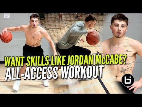 Jordan McCabe EXCLUSIVE All-Access Private Basketball Workout at BIL AAG! WANT SKILLS LIKE MCCABE!?