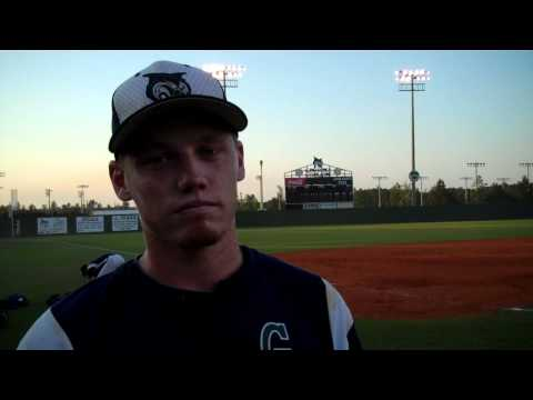 Bobcat Baseball Postgame Tanner Funk April 30
